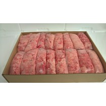 Dog Food Frozen DUCK Mince 48x 500g bags 24kg box. BARF RAW DIET delivered