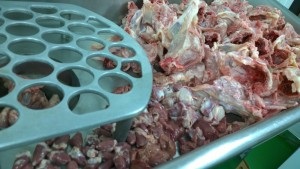 Dog Food Frozen Chicken Mince with Offal 48x 500g bags 24kg box. BARF RAW DIET